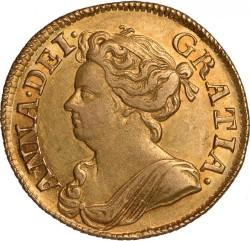 العملة > 1غينيا, 1710-1714 - المملكة المتحدة  - obverse