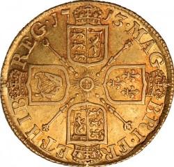 العملة > 1غينيا, 1710-1714 - المملكة المتحدة  - reverse