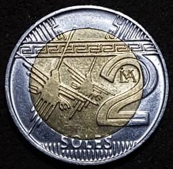 Monēta > 2soles, 2016-2018 - Peru  - reverse