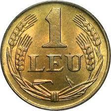 Munt > 1leu, 1947 - Roemenië  - reverse