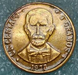 Монета > 1сентаво, 1978-1981 - Доминиканска Република  - reverse