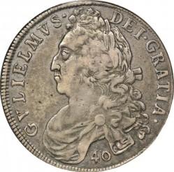 Moneda > 40chelines, 1695-1700 - Escocia  - obverse