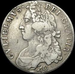 Moneda > 20chelines, 1695-1699 - Escocia  - obverse