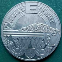Moneta > 10ECUs, 1993 - Paesi Bassi  (Maastricht Treaty) - reverse