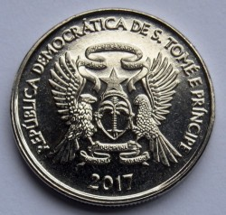 Moneda > 50céntimos, 2017 - Santo Tomé y Príncipe  - reverse