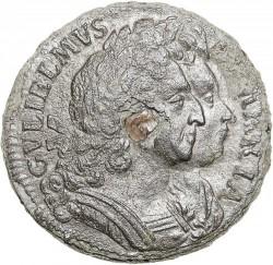 錢幣 > 1花星, 1689-1692 - 英格蘭  - obverse