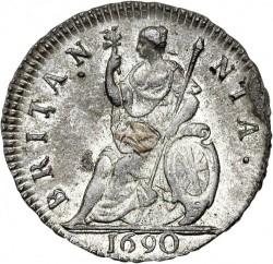錢幣 > 1花星, 1689-1692 - 英格蘭  - reverse