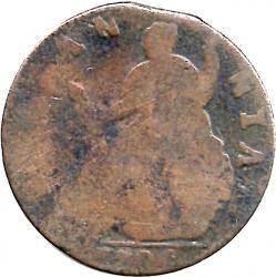 Монета > ½пенні, 1699-1701 - Англія  - reverse