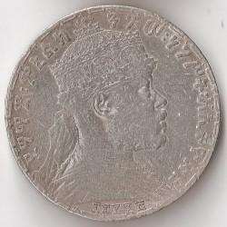 Кованица > 1бир, 1900-1903 - Етиопија  - obverse