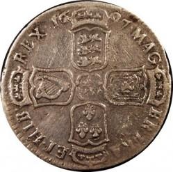 錢幣 > ½克郎, 1696-1697 - 英格蘭  - reverse