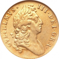 錢幣 > 1吉尼, 1695-1697 - 英格蘭  - obverse