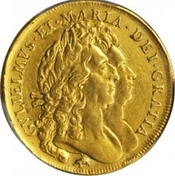 錢幣 > 5基尼, 1691-1694 - 英格蘭  - obverse
