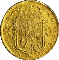 錢幣 > 5基尼, 1691-1694 - 英格蘭  - reverse
