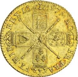 錢幣 > 1吉尼, 1695-1697 - 英格蘭  - reverse