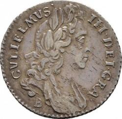 錢幣 > 6便士, 1697-1701 - 英格蘭  - obverse