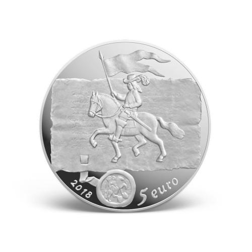 5 Euro 2018 Curonian Kings Lettland Münzen Wert Ucoinnet