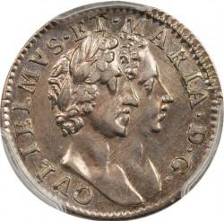 錢幣 > 4便士, 1689-1694 - 英格蘭  - obverse