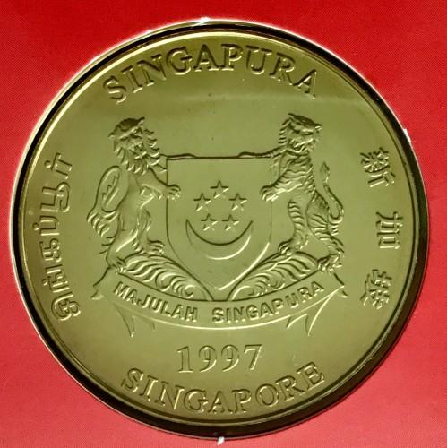 10 Dollar 1997 Asean Singapur Münzen Wert Ucoinnet