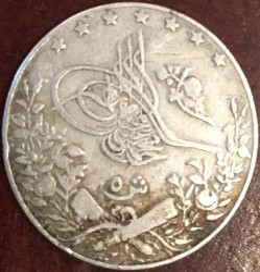 Munt > 5qirsh, 1909 - Egypte  - reverse