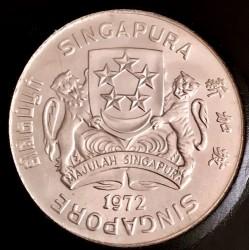 Moneta > 10dollari, 1972 - Singapore  (Falco) - obverse