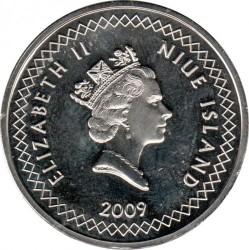 Monedă > 50cenți, 2009-2010 - Niue  - obverse