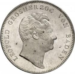 Münze > 2Taler, 1845-1852 - Baden  - obverse