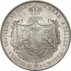 Münze > 2Taler, 1845-1852 - Baden  - reverse