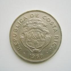 Coin > 2colones, 1968 - Costa Rica  - obverse