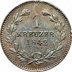 Moneta > 1kreuzer, 1836-1845 - Baden  - reverse