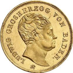 Монета > 10гульденов, 1819-1825 - Баден  - obverse