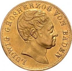 Moneta > 5guldenów, 1819-1826 - Badenia  - obverse