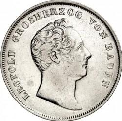 Moneda > 1florín, 1842-1845 - Baden  - obverse