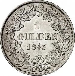 Moneda > 1florín, 1842-1845 - Baden  - reverse