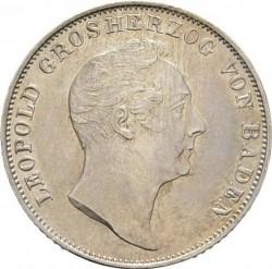 Moneta > ½guldena, 1838-1846 - Badenia  - obverse