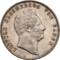 Moneda > 2taler, 1845-1852 - Baden  - obverse
