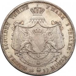 Moneda > 2taler, 1845-1852 - Baden  - reverse