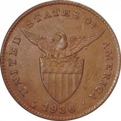 Monēta > 1sentavo, 1903-1936 - Filipīnas  - obverse