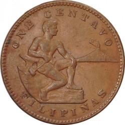 Monēta > 1sentavo, 1903-1936 - Filipīnas  - reverse