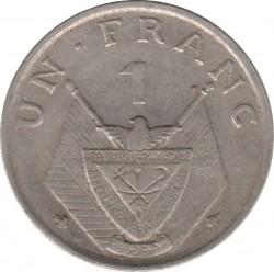 Moneda > 1franco, 1964-1965 - Rwanda  - reverse