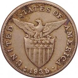 Minca > 5centavos, 1930-1935 - Filipíny  - obverse