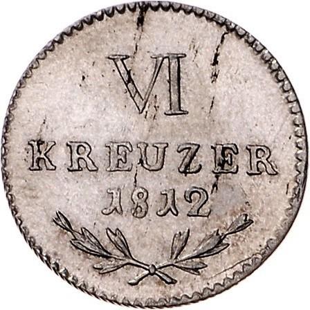 6 Kreuzer 1809 1813 Baden Münzen Wert Ucoinnet