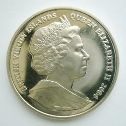 Moneta > 1dolar, 2004 - Brytyjskie Wyspy Dziewicze  (Delfin) - obverse