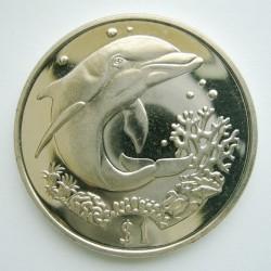 Moneta > 1dolar, 2004 - Brytyjskie Wyspy Dziewicze  (Delfin) - reverse