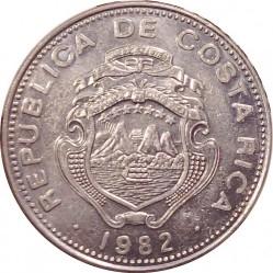 Монета > 25сентимів, 1982 - Коста-Ріка  - obverse