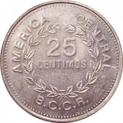 Монета > 25сентимів, 1982 - Коста-Ріка  - reverse