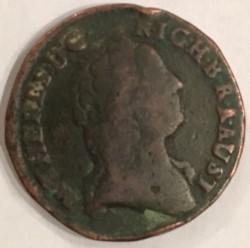 Moneda > 1kreuzer, 1761 - Austria  (Maria Teresa) - reverse