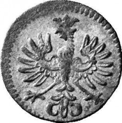 Монета > ¼крейцера, 1742-1747 - Австрия  - obverse