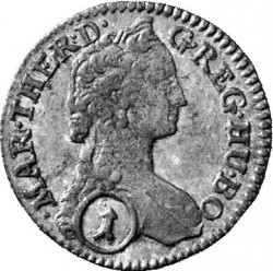 Coin > 1kreuzer, 1742-1743 - Austria  - obverse