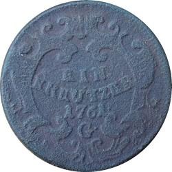 Münze > 1Kreuzer, 1761 - Österreich   (Maria Theresia) - reverse