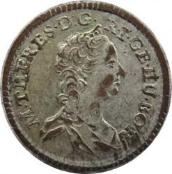 سکه > 1کرویزر, 1746-1759 - اتریش   (Maria Theresa - Eagle with arms of Austria) - obverse